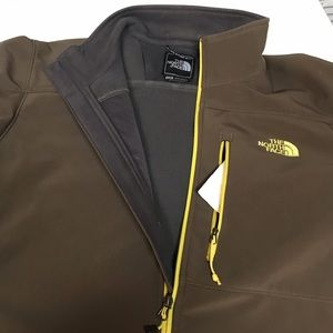 North Face shell with fleece jacket